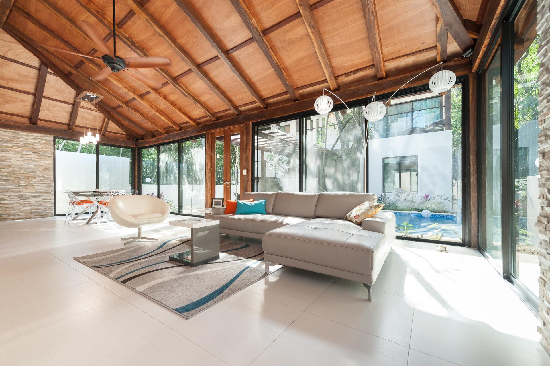 Living room Aldea Zama house!
