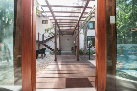 Outdoor entrance to your private pool
