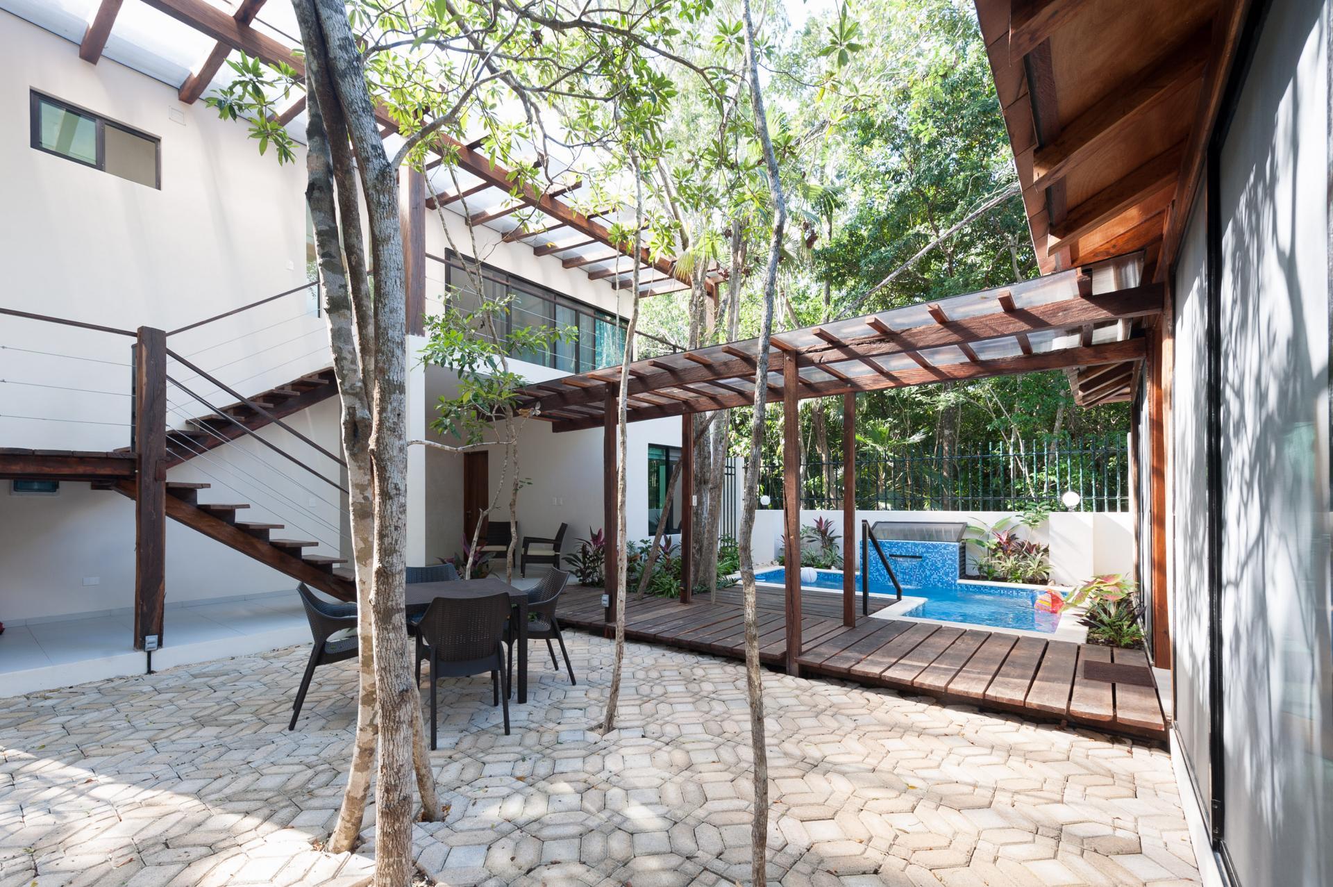 Private outdoor area