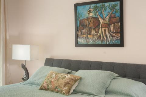 Bedroom details and Art