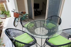 Modern Lux beach condo Tulum with bikes